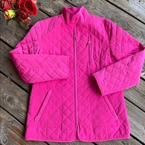 Liz Claiborne pink coat